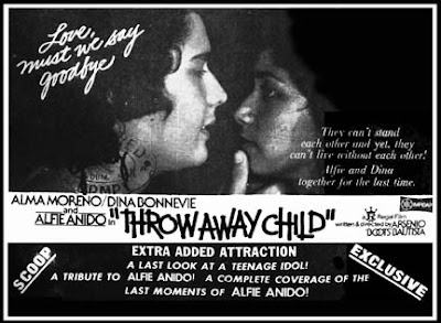 Throw Away Child (1982)- Stars Alma Moreno, Dina Bonnevie and Alfie