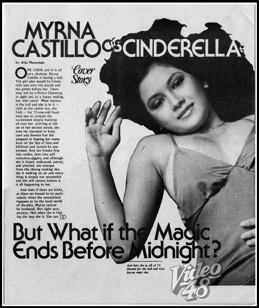 BOLD STARS OF THE 80s #9: MYRNA CASTILLO