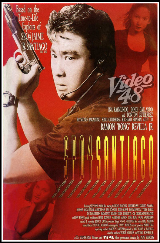 SPO4 Santiago: Sharpshooter (1996) Ramon 'Bong' Revilla Jr.