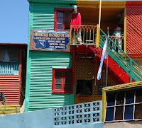 Kleurrijk La BOCA