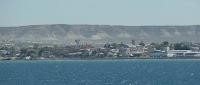Kustlijn van Puerto Madryn