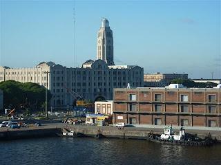 De haven van Montevideo