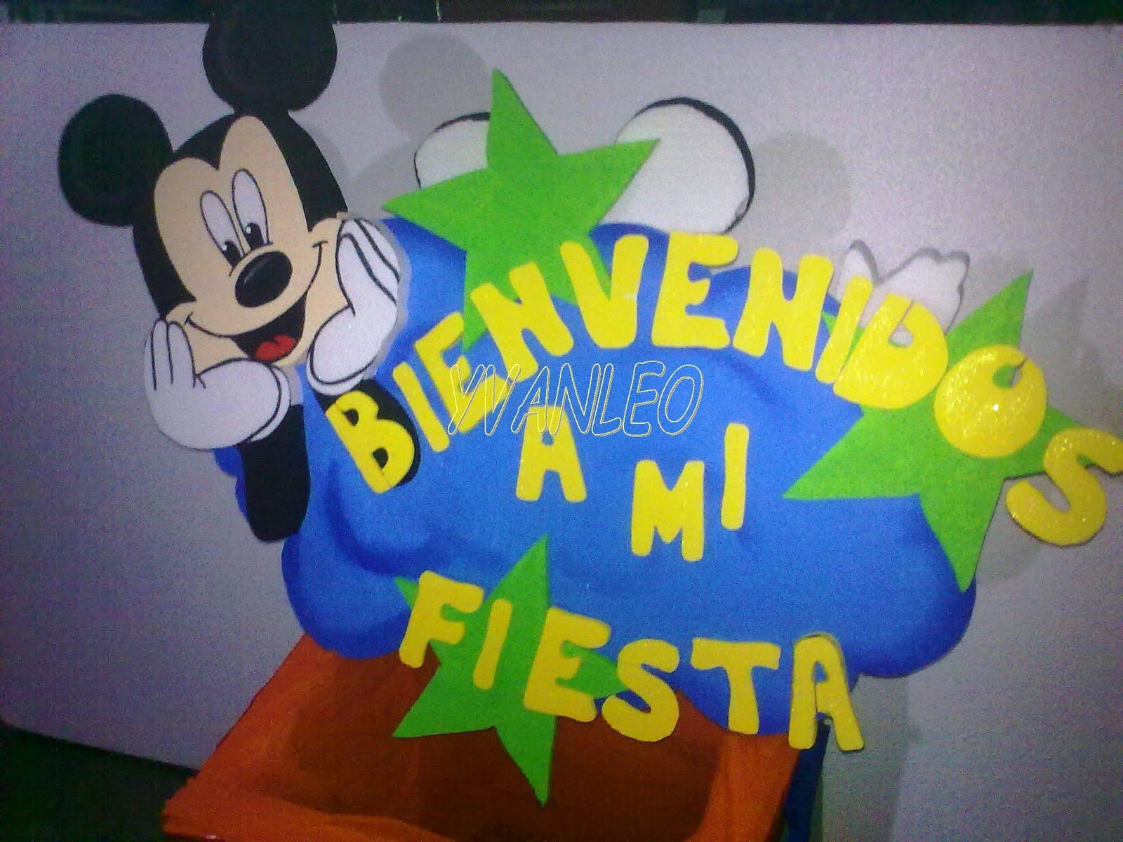 Centros De Mesa Y Chupeteros De Mickey Mouse - EsPix