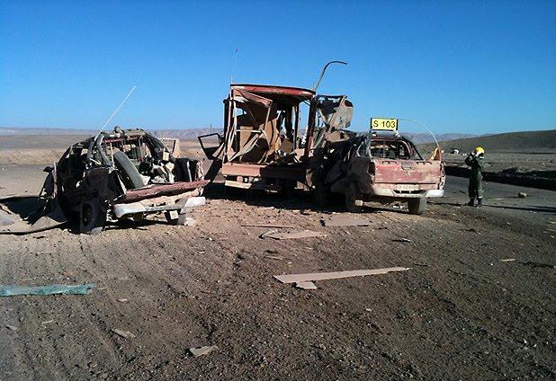 SQM: trabajadores habrían intentado deshacerse de explosivos sobrantes.