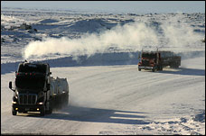 Ice Road trucks