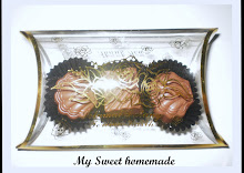 3 pcs chocolate without ribbon