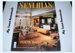 My Sweethomemade dalam Majalah Seni Hias keluaran Mei 2010