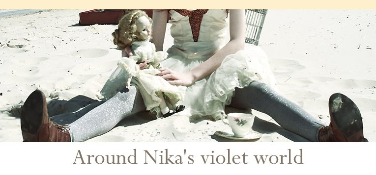 Around Nika's violet world