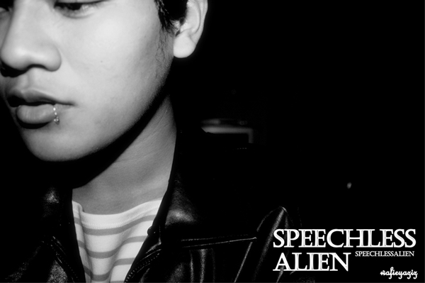 Speechless Alien