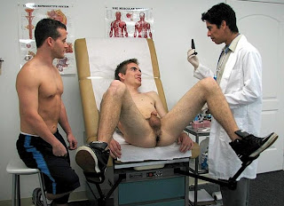image First gay physical exam with blowjob