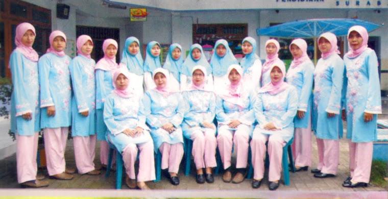 Guru dan Staf  KB dan TK. Al-Wahyu Surabaya