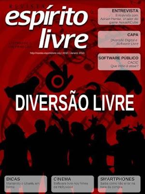 Capa da Revista Espirito Livre nº10