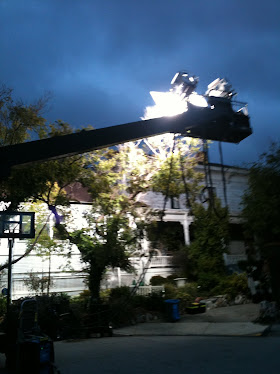 Ghostwhisperer - Night time filming