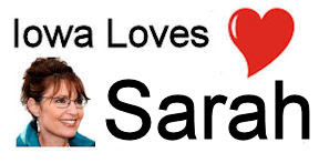 Iowa Loves Sarah Palin