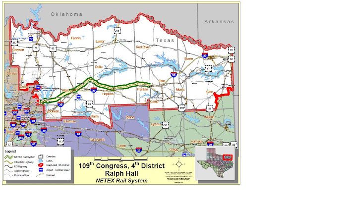 North East Texas Rural Railroad Transportation District on mayor of texas, dental society of texas, 18th district of texas, 30th district of texas, 4th congressional district texas,