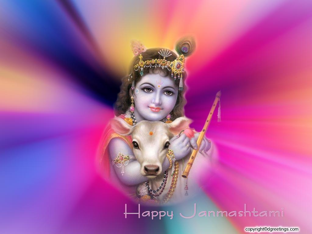 New Tattoo Style: Baby Krishna Balgopal Janamashtami Wallpapers ...