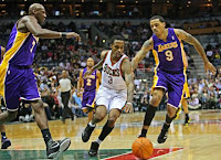 Bucks versus Lakers
