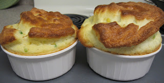 Corn souffle, adapted from A Mingling of Tastes