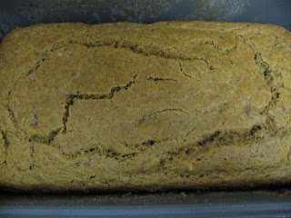 Banana bread from Sweet and Sugarfree by Karen Barkie