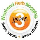 weekend herb blogging