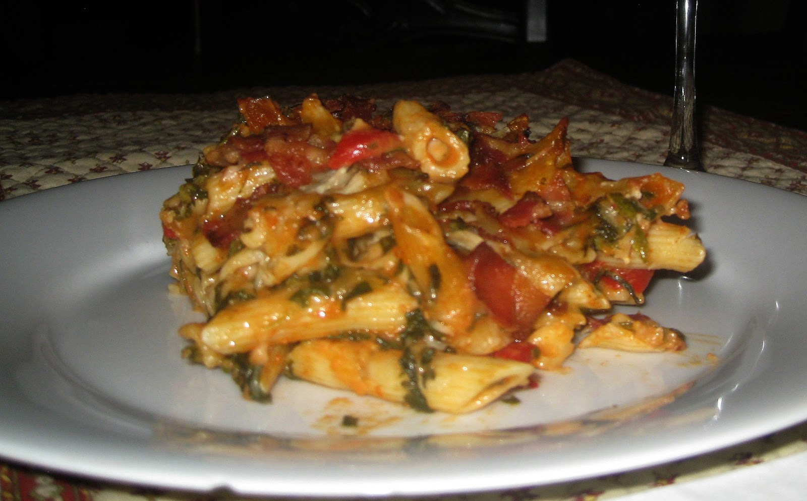 BAKED PENNE TRICOLORE