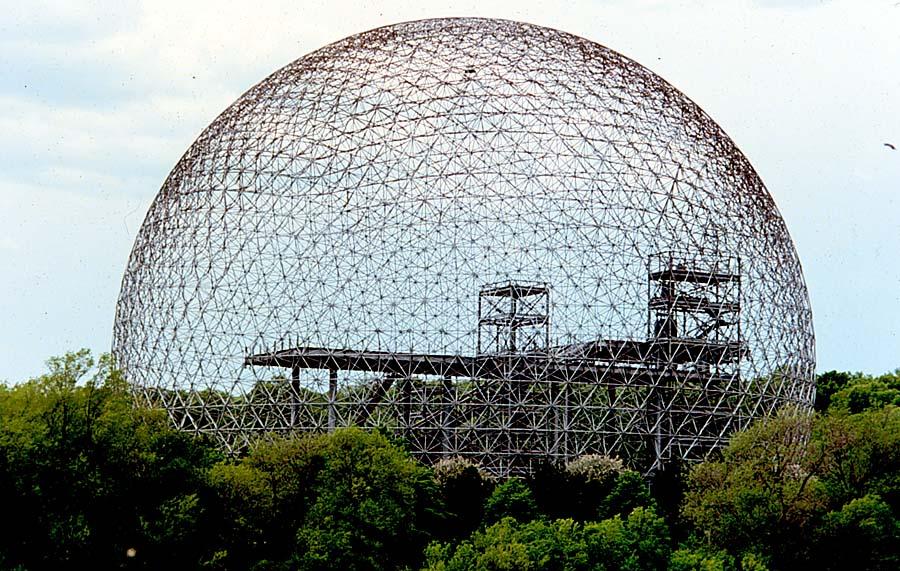 Domo geodesico - estrutura da autoria de Fuller