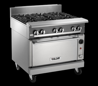 vulcan stoves are only used for commercial they are not suitable for a house because of the heat generated from their pilot lights