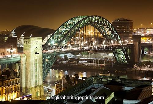 Tyne Bridge Wallpaper Tyne Bridge at Night N080496