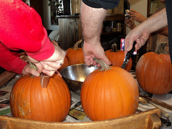 pumpkin carving family
