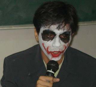 Rasagy Sharama aka RaSh playing The Joker from Dark Knight in Zephyr '08