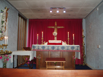 Blessed Sacrament in the Lady Chapel