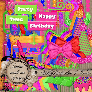 http://lauriemademescraps.blogspot.com/2009/05/its-my-party-kit-freebie.html