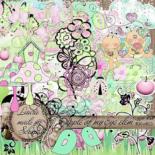http://lauriemademescraps.blogspot.com/2009/08/apple-of-my-eye-kit-freebie.html