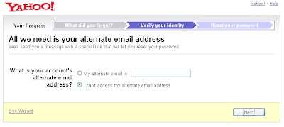 how to change your yahoo password if you forgot it