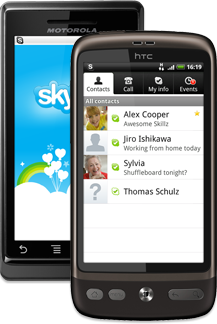 skype for Android Mobile Phone