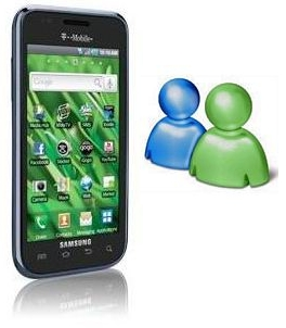 Windows Live Messenger for Samsung Galaxy S Vibrant SGH t959