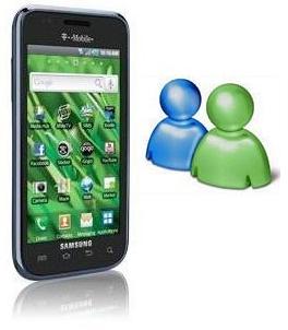Windows Live Messenger for Samsung Galaxy S Vibrant SGH t959