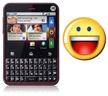 Yahoo Messenger for Motorola Charm