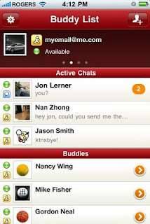 IgniteIM - Multi Protocol Instant Messaging for iPad iPhone and iPod Touch