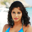 South sexy bomb Malishka cleavage and  navel exposing photo gallery