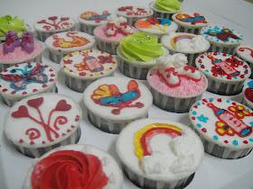 Cupcake Baby..25 psc saiz s