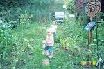 Alex and Kath gardening
