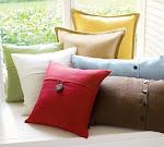 Textured Linen Pillow Covers