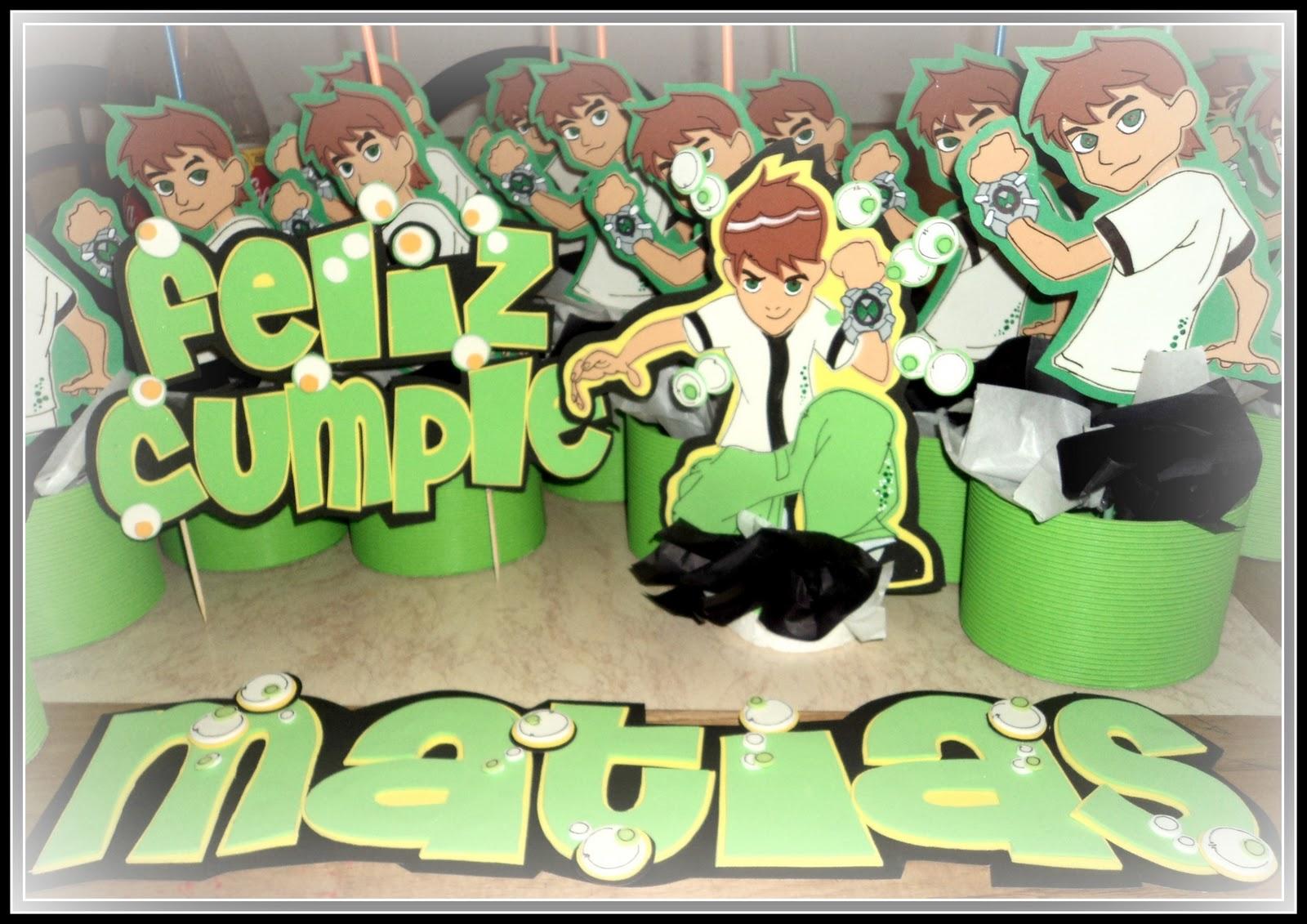 Cotillón Fiestas Infantiles: ben10