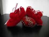 """pantofiori bebe """"rose"""""""