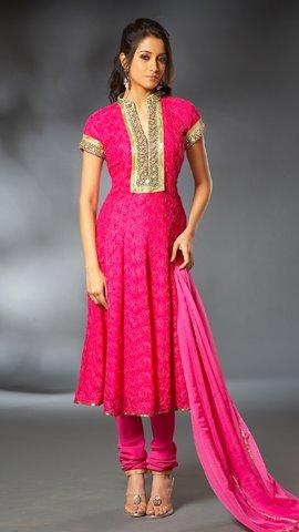 2 4752b Anarkali Dresses