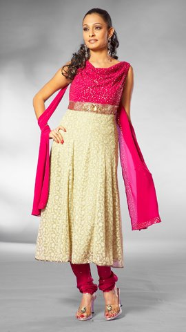002 4989b Anarkali Dresses