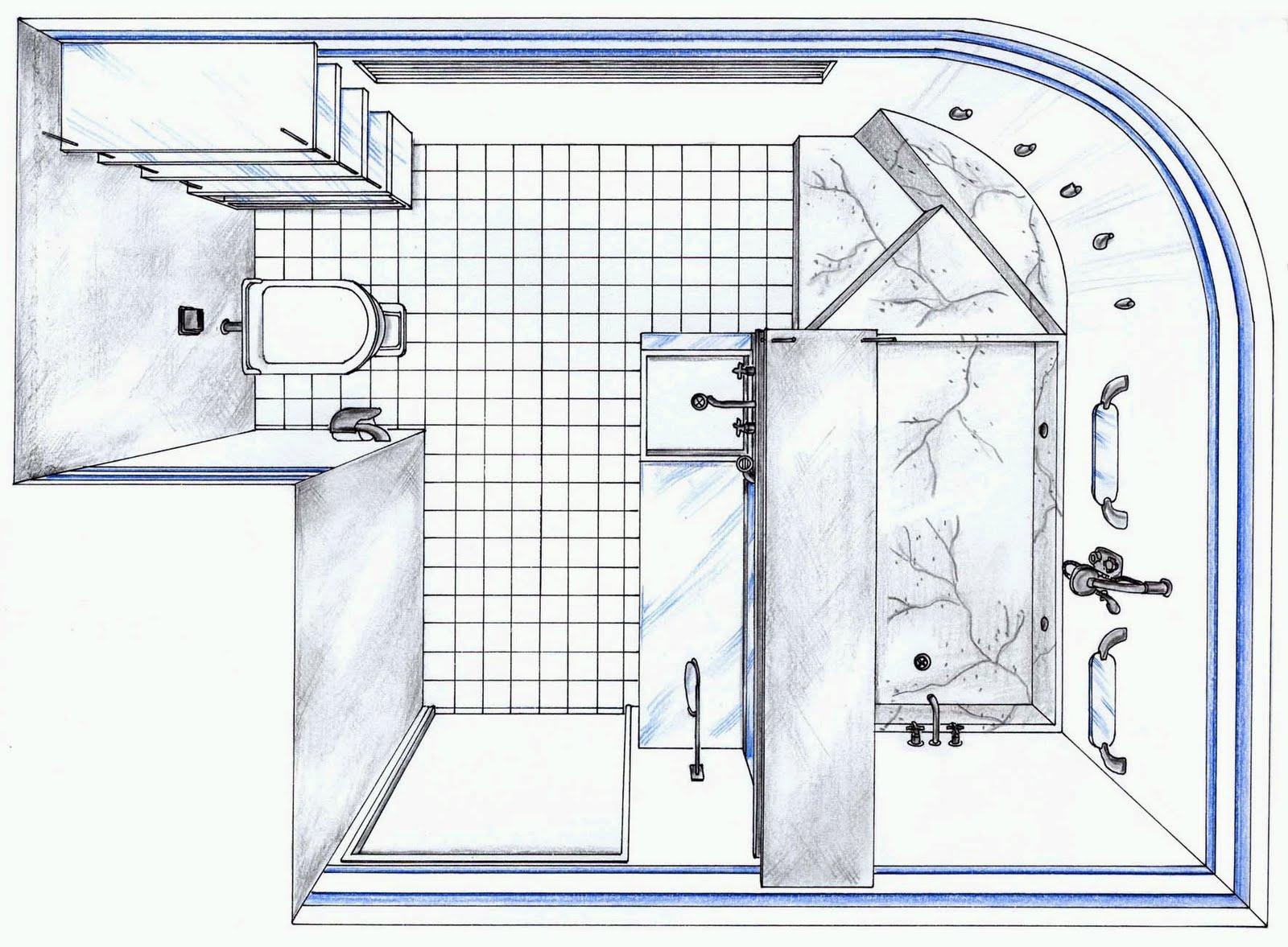 Larissa Schirmanoff design de interiores: Banheiro do Concurso Deca #375294 1600 1177