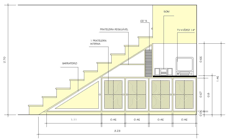 por Larissa Schirmanoff design de interiores: Móveis sob Medida #888843 1324 809