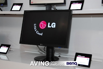 LG, Monitor certificado para o Windows Vista